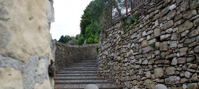 Da Longuelo a San Vigilio sulle scalette Bergamo