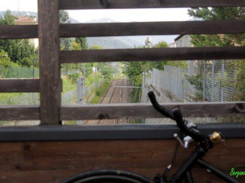 Tram & bike: dalla stazione di Bergamo a Torre Boldone