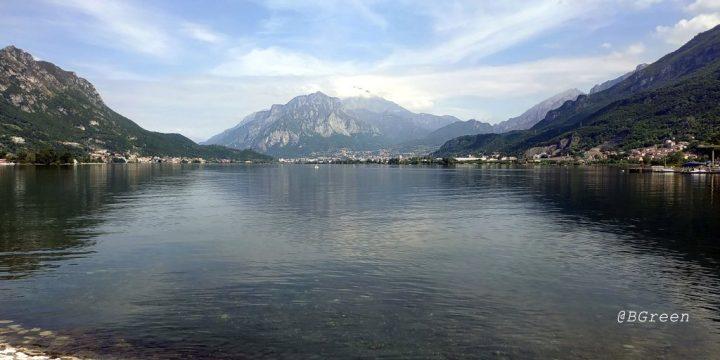 da brivio al lago di Garlate